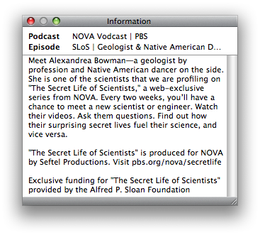 Secret Life of Scientists: Alexandrea Bowman
