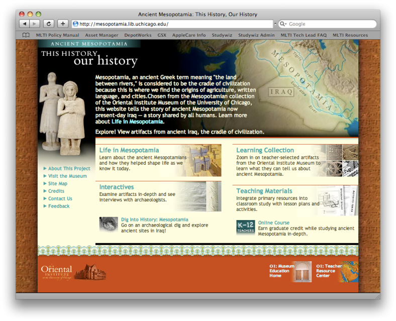 Ancient Mesopotamia: This History, Our History