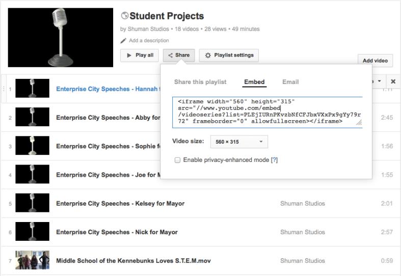 YouTube Embed Code image