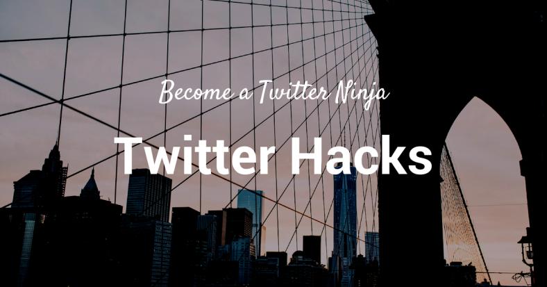 15 Twitter Hacks