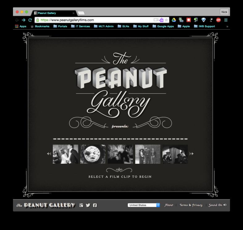 Peanut Gallery screenshot