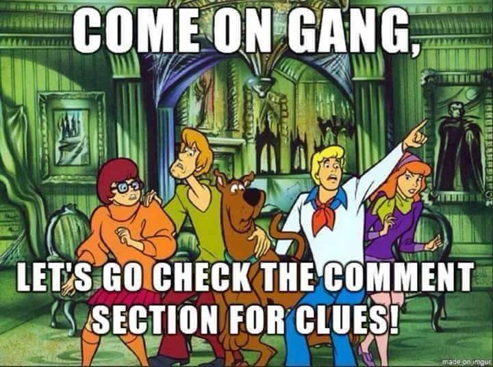 Scooby Doo FB Comment