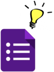 gform icon with lightbulb