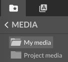 My media folder