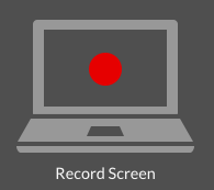 Record Screen option