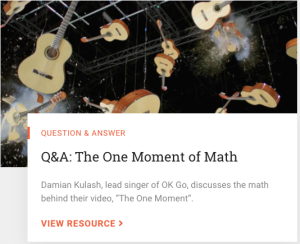 Q&A module: The One Moment of Math