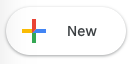 The New button inside of Google Drive