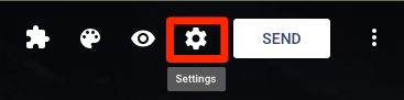 Google Forms Settings icon